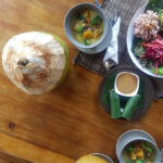 Delicious, chef-prepared meals served at The Phoenix Retreat Bali.